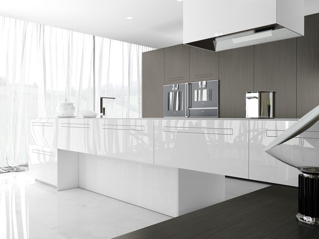 Project studio italiaanse design keukens comprex antwerpen kaaien - Badkamers bassin italiaanse design ...